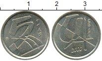 Изображение Дешевые монеты Испания 5 песет 2000 Латунь XF