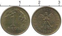 Изображение Дешевые монеты Польша 1 грош 1992 Бронза XF