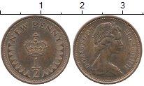 Изображение Дешевые монеты Великобритания 1/2 пенни 1971 Бронза XF