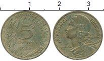 Изображение Дешевые монеты Франция 5 сантим 1980 Бронза XF