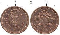 Изображение Дешевые монеты Барбадос 1 цент 1999 Бронза VF+