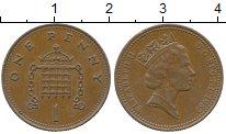 Изображение Дешевые монеты Великобритания 1 пенни 1987 Бронза VF