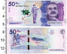 Изображение Банкноты Колумбия 50000 песо 2015  UNC