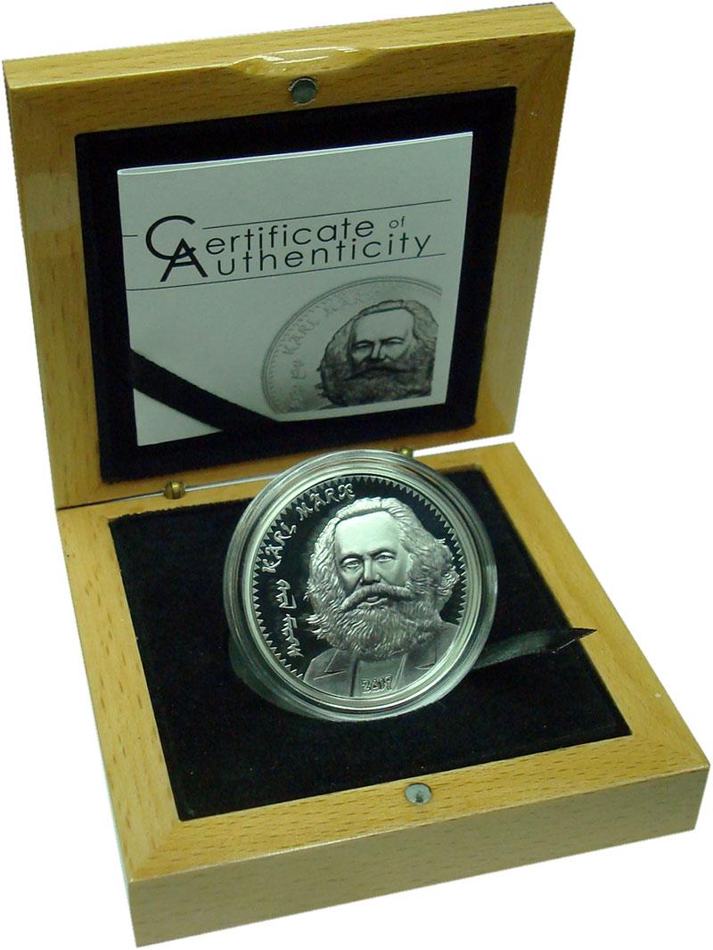 Изображение Подарочные монеты Монголия 1000 тугриков 2019 Серебро Proof