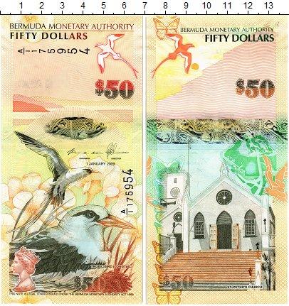 Изображение Банкноты Бермудские острова 50 долларов 2009  UNC