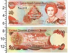 Изображение Банкноты Каймановы острова 100 долларов 1996  UNC