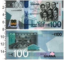 Изображение Банкноты Гана 100 седи 2019  UNC