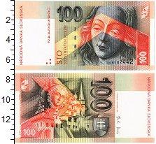 Изображение Банкноты Словакия 100 крон 2004  UNC