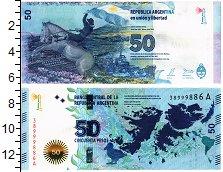 Изображение Банкноты Аргентина 50 песо 0  UNC