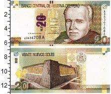 Изображение Банкноты Перу 20 соль 2009  UNC