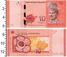 Изображение Банкноты Малайзия 10 рингит 0  UNC