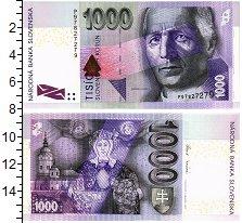 Изображение Банкноты Словакия 1000 крон 2007  UNC