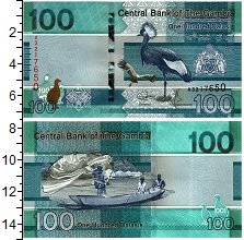 Изображение Банкноты Африка Гамбия 100 даласи 2019  UNC