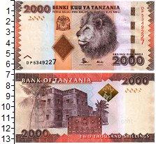 Изображение Банкноты Африка Танзания 2000 шиллингов 0  UNC