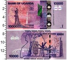 Изображение Банкноты Африка Уганда 10000 шиллингов 2013  UNC