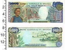 Изображение Банкноты Руанда 5000 франков 1988  UNC