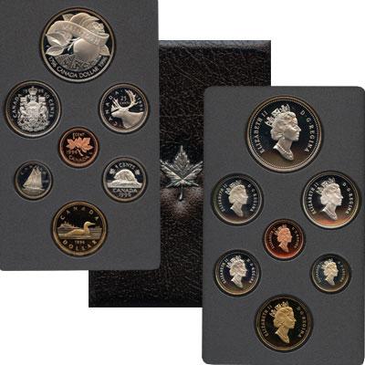 Изображение Подарочные монеты Северная Америка Канада Набор монет 1996 года 1996  Proof