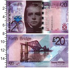 Изображение Банкноты Шотландия 20 фунтов 2009  UNC