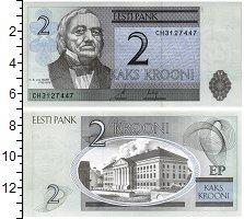 Изображение Банкноты Эстония 2 кроны 2006  UNC
