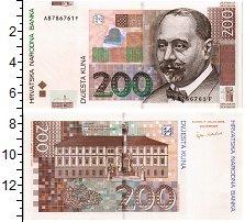 Изображение Банкноты Хорватия 200 кун 2002  UNC Президент Вадик