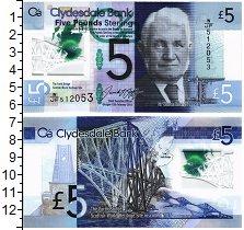 Изображение Банкноты Великобритания Шотландия 5 фунтов 0  UNC