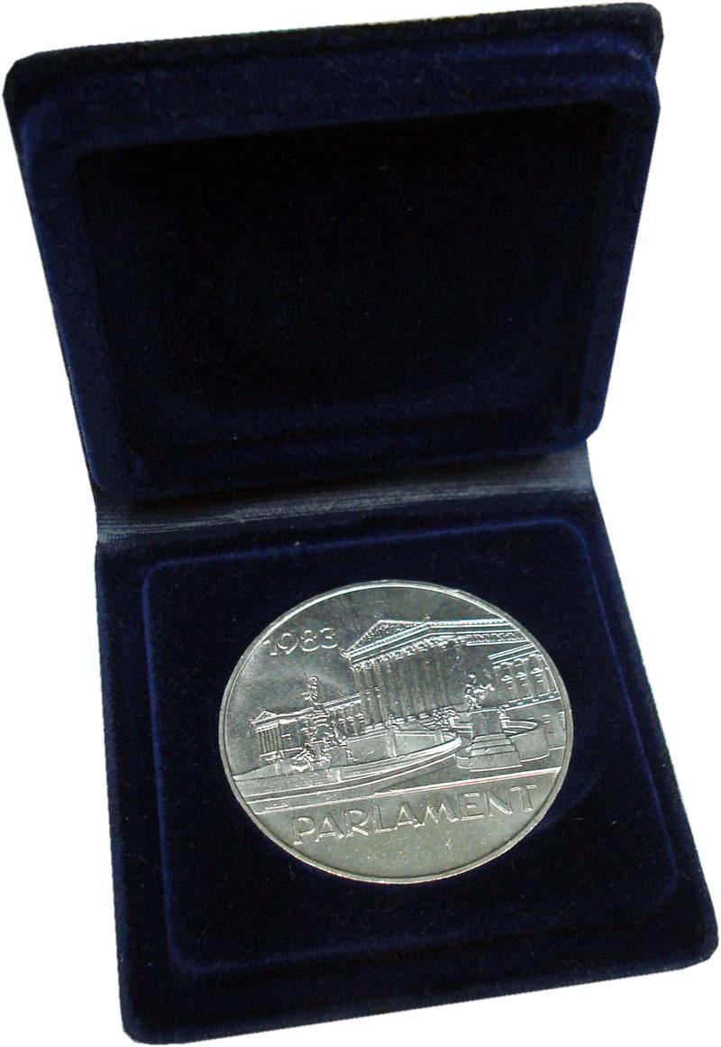 Изображение Подарочные монеты Европа Австрия 500 шиллингов 1983 Серебро UNC