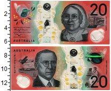 Изображение Банкноты Австралия 20 долларов 2019 Пластик UNC
