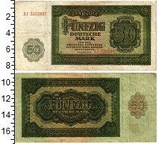 Изображение Банкноты ГДР 50 марок 1948  VF
