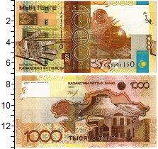 Изображение Банкноты Казахстан 1000 тенге 2006  UNC