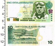 Изображение Банкноты Южная Америка Перу 10 соль 2006  UNC