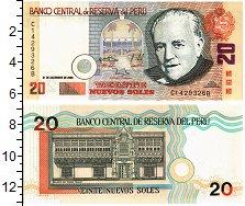 Изображение Банкноты Перу 20 соль 2006  UNC