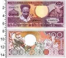 Изображение Банкноты Суринам 100 гульденов 1986  UNC