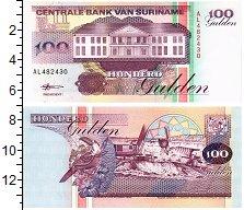 Продать Банкноты Суринам 100 гульденов 1998