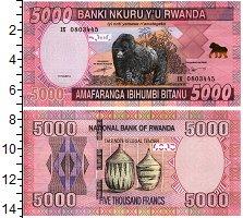 Изображение Банкноты Руанда 5000 франков 2014  UNC