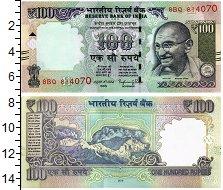 """Изображение Банкноты Индия 100 рупий 2016  UNC <span style=""""font-si"""