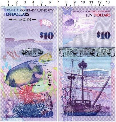 Изображение Банкноты Бермудские острова 10 долларов 2009  UNC