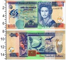 Изображение Банкноты Белиз 100 долларов 2017  UNC
