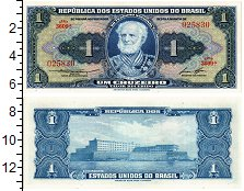 Изображение Банкноты Бразилия 1 крузейро 0  UNC