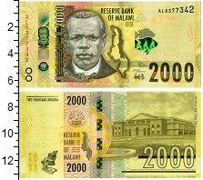 Изображение Банкноты Малави 2000 квач 2018  UNC