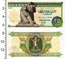Изображение Банкноты Египет 25 пиастров 0  XF+