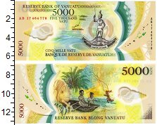 Изображение Банкноты Вануату 5000 вату 2017 Пластик UNC