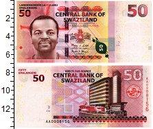 Изображение Банкноты Свазиленд 50 эмалангени 2010  UNC