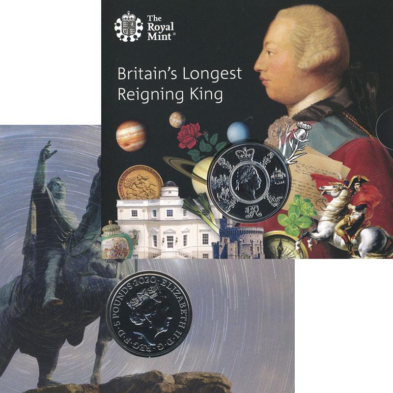 Изображение Подарочные монеты Великобритания 5 фунтов 2020 Медно-никель UNC