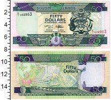 Изображение Банкноты Соломоновы острова 50 долларов 1996  UNC