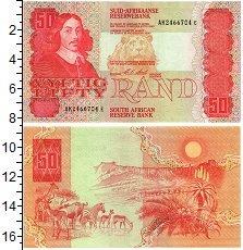 Изображение Банкноты ЮАР 50 рандов 0  UNC- животные африки