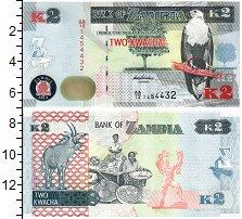 Изображение Банкноты Замбия 2 квачи 2012  UNC