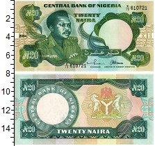 Изображение Банкноты Африка Нигерия 20 найра 2004  UNC