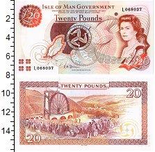 Изображение Банкноты Остров Мэн 20 фунтов 0  UNC
