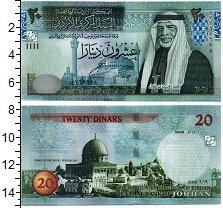 Изображение Банкноты Иордания 20 динар 2019  UNC