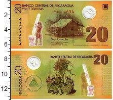 Изображение Банкноты Никарагуа 20 кордоба 2007  UNC